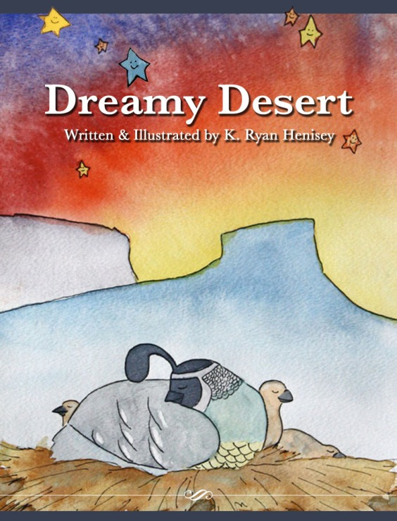 Put your children to sleep as the sun sinks down behind a bold desert sky. The happy animals in this downloadable e-book rest beneath the desert sunset and inspire restful sleep among children of any age.