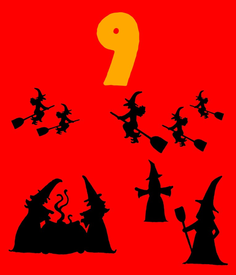 9 Wicked witches