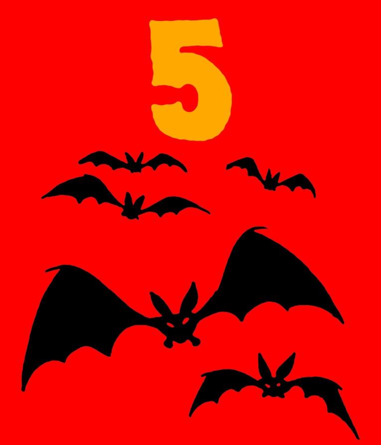 5 Vampire bats