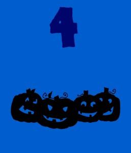 4 Grinning pumpkins