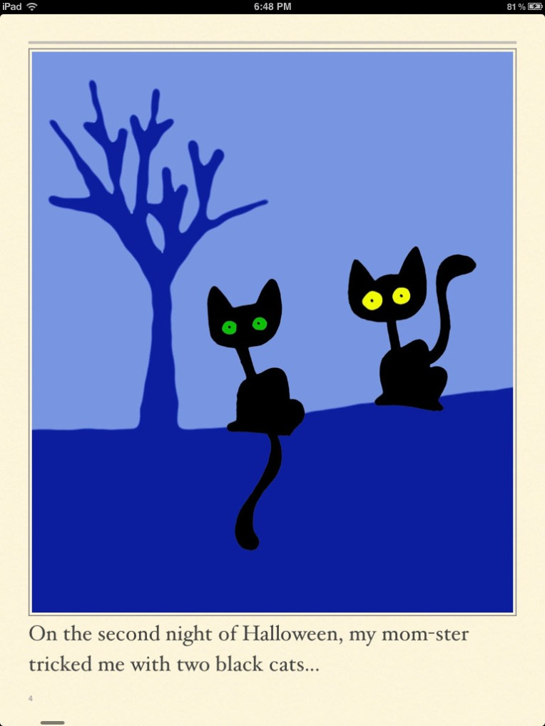 Page 4 of The Thirteen Nights of Halloween
