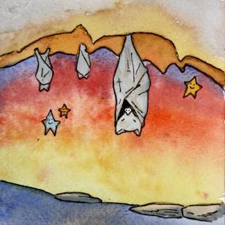 Dreamy Desert, Bats