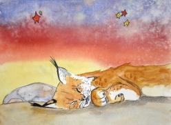 Dreamy Desert, Bobcat (sold)