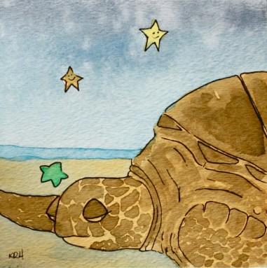 Slumbering Sea, Sea Turtle