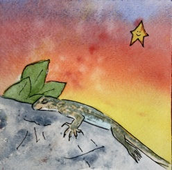 Dreamy Desert, Lizard