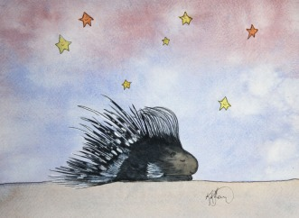 Sleepy Safari, Porcupine