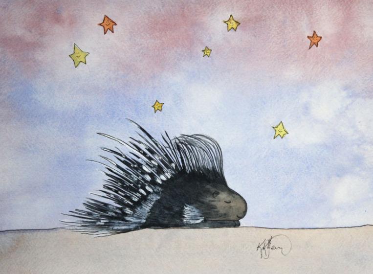 Sleepy Safari, Porcupine
