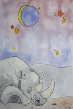 Sleepy Safari, Rhino
