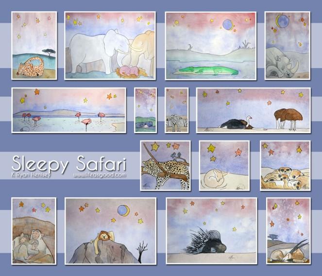 Sleepy Safari Collection