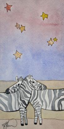 Sleepy Safari, Zebra
