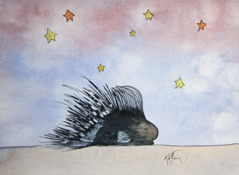 Porcupine, Sleepy Safari