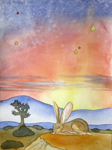 Jack Rabbit, Dreamy Desert