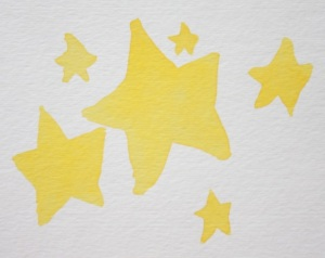 Celebrate yourself with a big fat star!