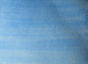 A flat wash in blue.