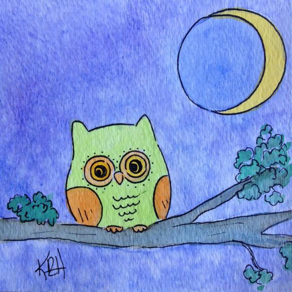 Owly Says Goodnight