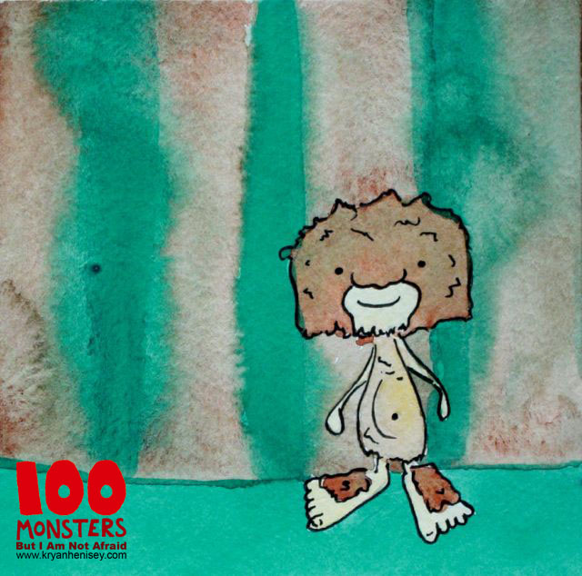 Download 100 Monsters at www.kryanhenisey.com