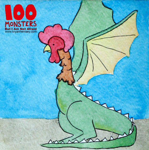 Download 100 Monsters to your eReader!