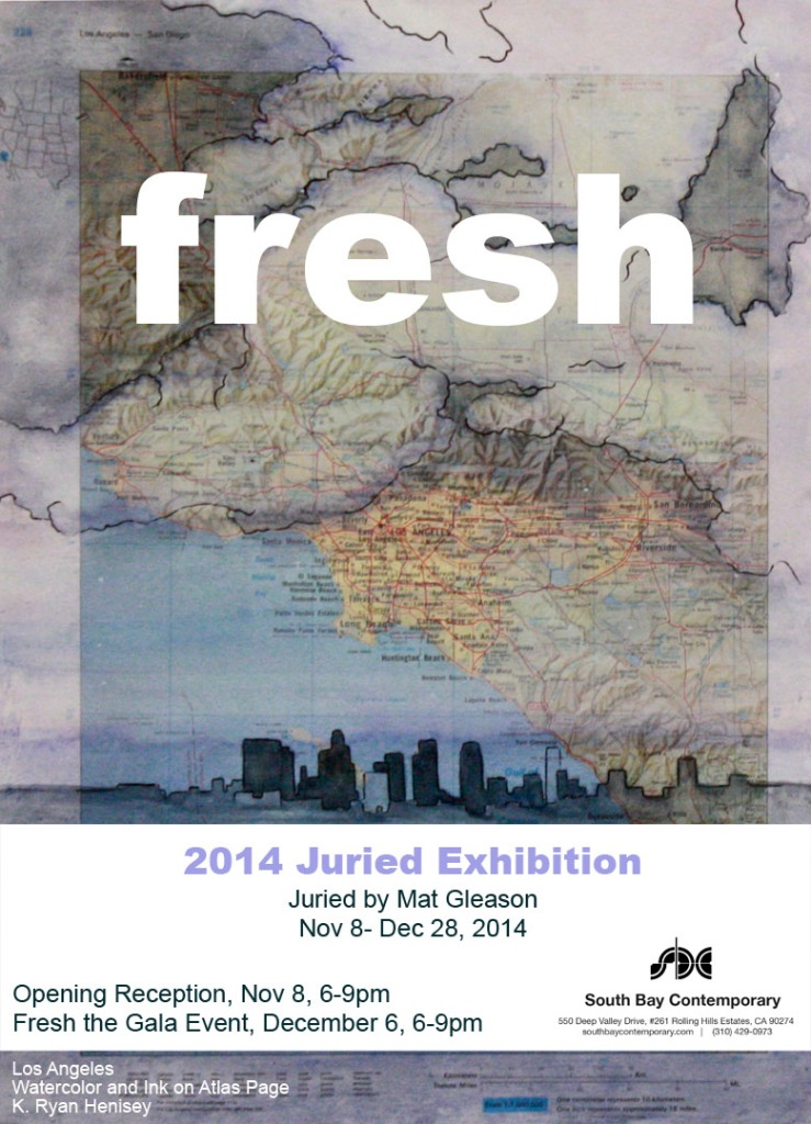 Join me for the Fresh events at South Bay Contemporary Gallery.