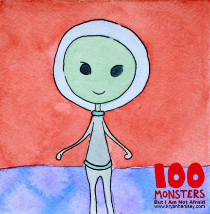 Download 100 Monsters to your e-reader.