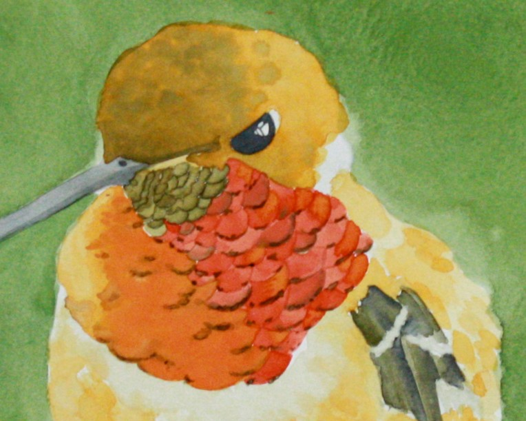Hummingbird 1 by K. Ryan Henisey