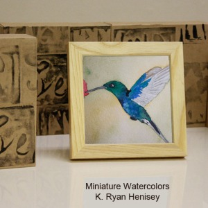 Hummingbird 5 Standing Boxes