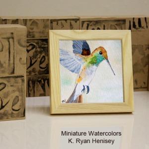 Hummingbird 7 Standing Boxes