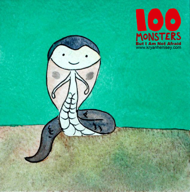 Download all the monsters in their fully illustrated e-book, 100 Monsters But I Am Not Afraid.
