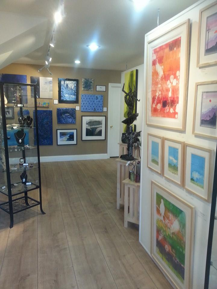 Watercolor Landscapes and Monotype Prints, Front and Center at OC Creatives, Laguna Beach, CA