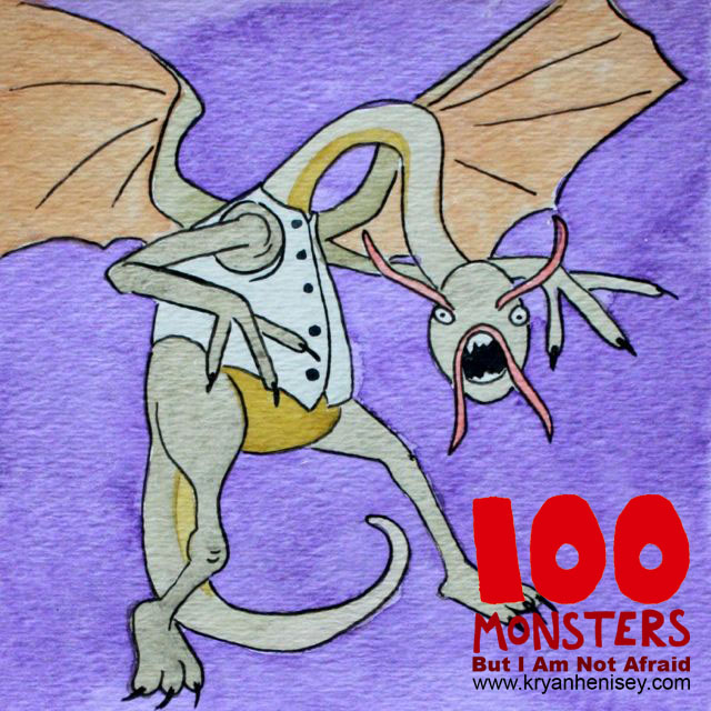 Download 100 Monsters But I Am Not Afraid and the bonus Monstrous Encyclopedia to your eReader.