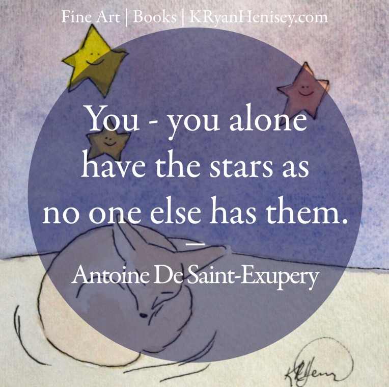You alone have the stars as no one else has them. - Antoine De Saint-Exupery