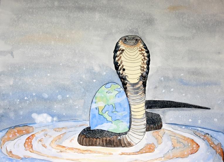 Henisey_BirthOfCreation_18x24_Watercolor